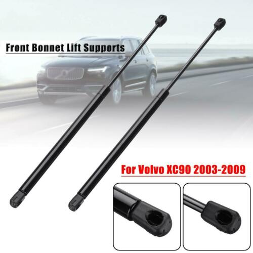 2Pcs Car Front Engine Bonnet Hood Lift Supports Strut Bars For Volvo 30649736