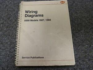 1987 1988 Audi Quattro Sedan Wagon Electrical Wiring ...