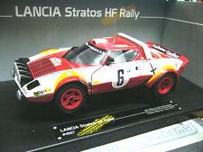 LANCIA Stratos HF Rallye Bacchelli Monte Carlo 1979 #6 RAR Sunstar 1:18