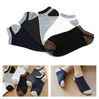 6pcs Cotton Sport Men Boat Socks Short Soild Ankle Casual Low Cut Hosiery summer