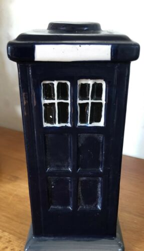 Latex Mould for making this Tardis Ornament//candle