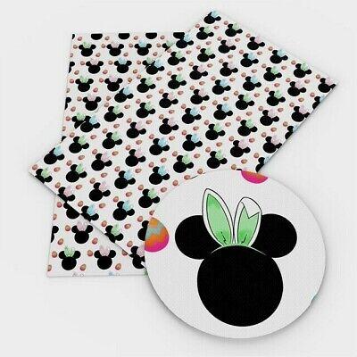 Minnie FAUX LEATHER SHEET 9 X 12 WHOLESALE 1077228 Mouse