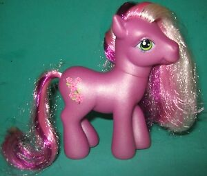 My little pony lavender with pink purple mane tail pink flowers image is loading my little pony lavender with pink amp purple mightylinksfo