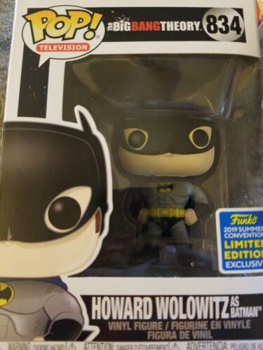 HOWARD WOLOWITZ as BATMAN The Big Bang Theory Funko PoP 2019 SSDC LE Exclusive