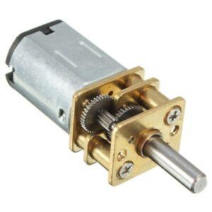 DC 3V 0.3A 15RPM Elektro Getriebe Motor fuer Roboter G9J2 S3X4 2x