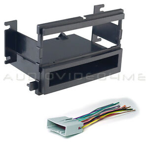 2005 2006 2007 ford focus car stereo radio dash mounting kit wire rh ebay com EZ Wiring Kit Ford Mustang Ford Trailer Wiring Kit