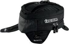 ICON Primer Magnetic Motorcycle Tank Bag / Backpack (Black)