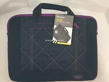 """12/"""" Grid Mil Spec Vert Slipcase Shoulder Messenger Bag black TSS847AP TARGUS"""