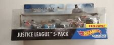 Justice League Tea Character Vehicle Toy 5pack Hot Wheels Car 64 Scale