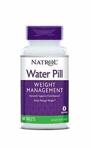 Natrol Water Pill 60 Tabs NEW