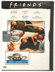 FRIENDS-Anno-1-Episoni-1-6-DVD-Film-PAL-Edizione-Snapper