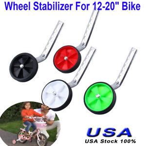 "Kids Bicycle Training Wheels Bike Stabilisers Safety 12-20/"" Inch  DMF"