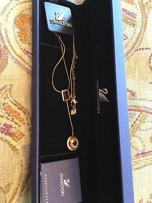 Sonstige Swarowski Original Halskette Kette M Anhänger Champagner Braun Ovp Einen Einzigartigen Nationalen Stil Haben