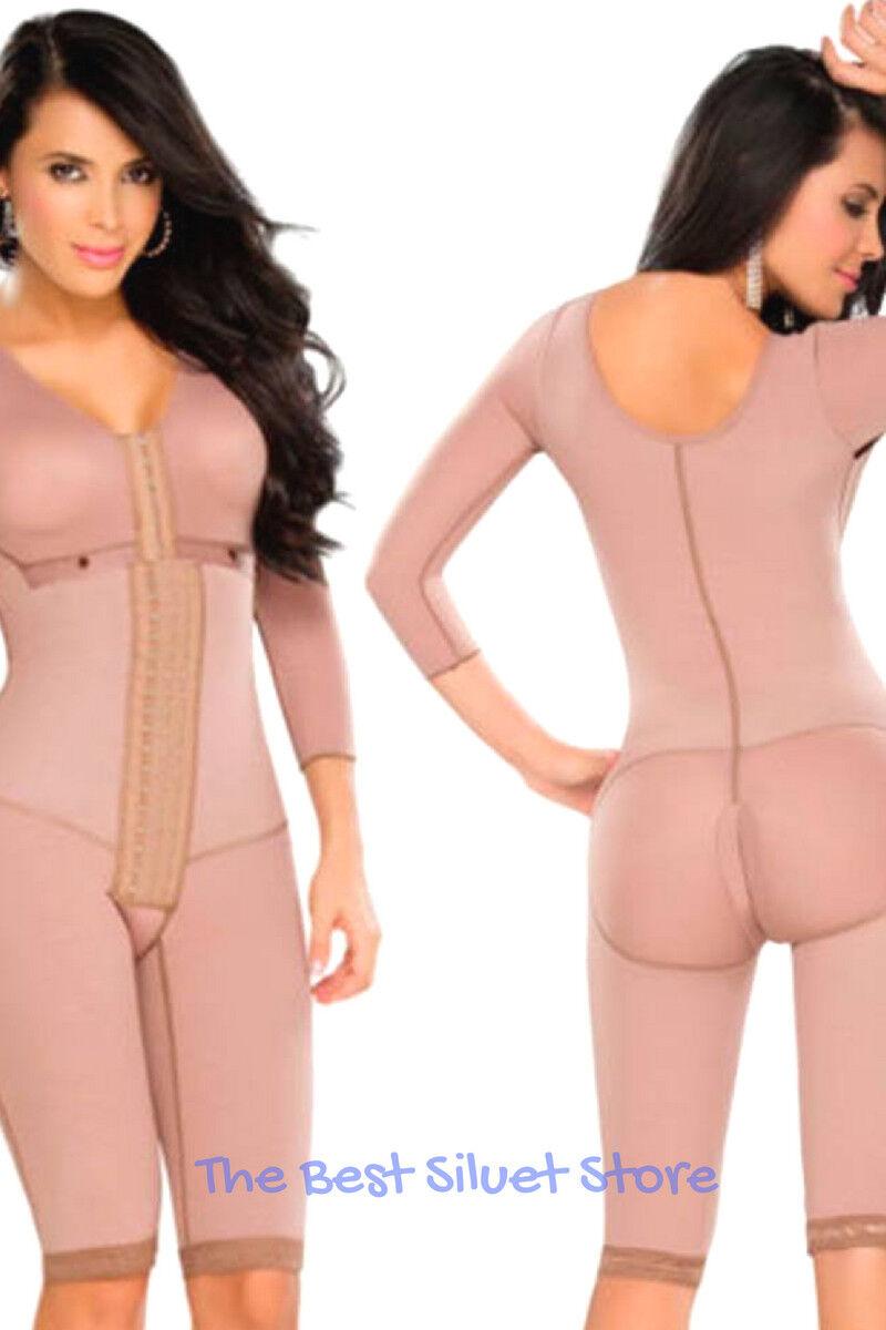 Fajas Colombianas DPrada 11103 Full Body Shaper liposucción prenda de compresión