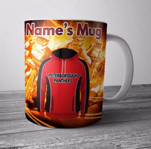 Speedway Personnalisé Mug//Tasse-Peterborough Panthers à Thème Cadeau-Tout nom