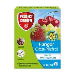 Protect Garten Obst Pilzfrei Fungor 30 g Grauschimmel Monilia Fruchtfäule Teldor