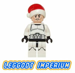 LEGO-Minifigure-Star-Wars-Christmas-Clone-Trooper-sw596-Santa-FREE-POST