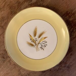 Vintage-Century-Service-Corporation-AUTUMN-GOLD-Salad-Dessert-7-034-Plate-Wheat