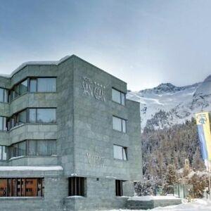 4 Tage Kurzurlaub 4* Superior Hotel inkl. HP St. Moritz Engadin Schweiz Reise