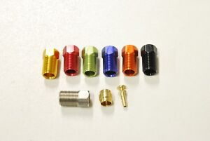 Alligator Hydraulic brake hose fitting Compression Nuts for SHIMANO