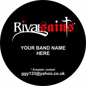 Custom-Bass-Drum-Band-Logo-Graphic-Decal-Sticker