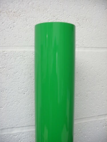 FLUORESCENT GREEN SELF ADHESIVE VINYL 1mtr x 600mm wide