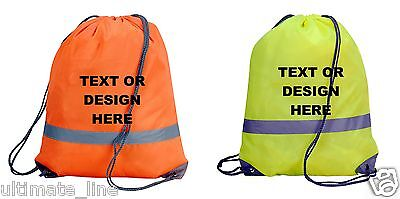 ST501 Personalised Stranger Things Drawstring Bag for PE School Swimming