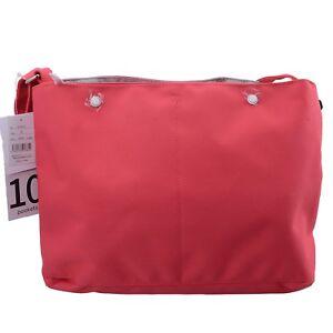 Pink-Anello-10-Pockets-Shoulder-Fashion-Cross-Body-Message-Tablet-Travel-Bag