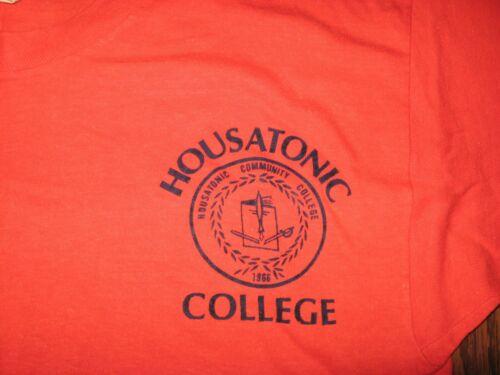Vintage 60s 70s Housatonic Community College t-shi