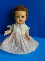 """VINTAGE 11"""" TINY TEARS DOLL- AMERICAN CHARACTER 1950s"""