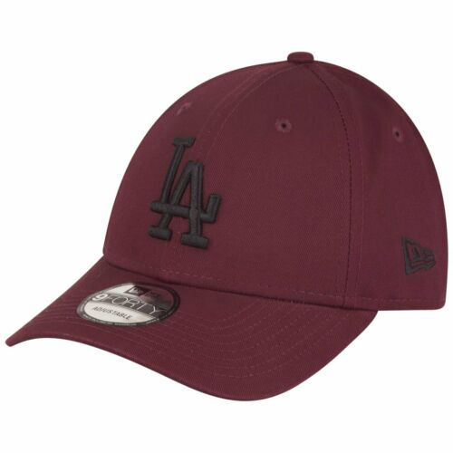 New Era 9Forty Strapback Cap Los Angeles Dodgers maroon