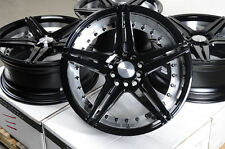 "17"" Effect Wheels Rims 5x114.3 Neon Srt Stratus Scion TC Xd Jetta Sienna Camry"