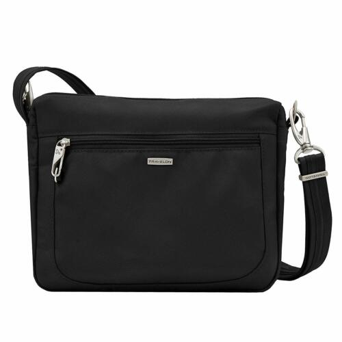 Various Colors available Travelon Anti-Theft Classic Small E//w Crossbody Bag