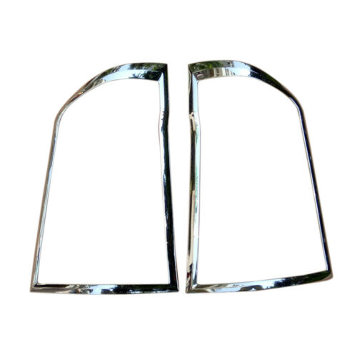 ABS Rear Tail Lamp Light Cover Trim 2pcs for Mercedes-Benz Vito 2014-2018