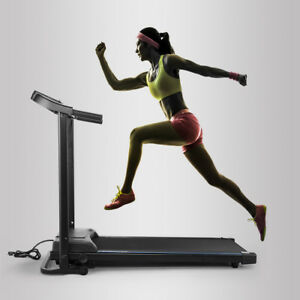 Details about Folding Treadmill Fitness Running Machine Gym &Home Exercise  Equipment Portable