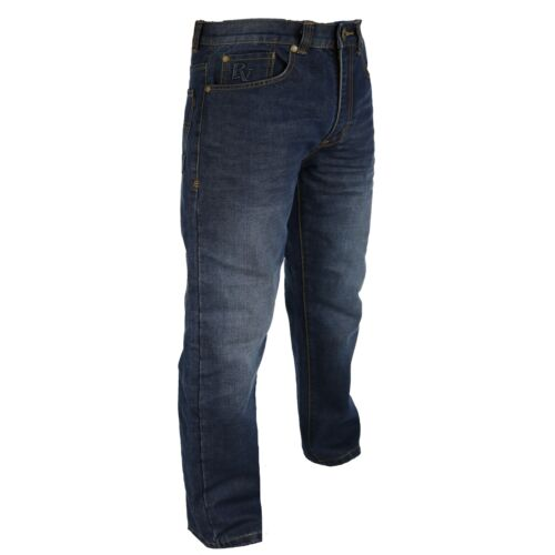 Jeans da Uomo Raphael Valencino in Tapered Fit for Men Design Scolorito Taglia 32-48
