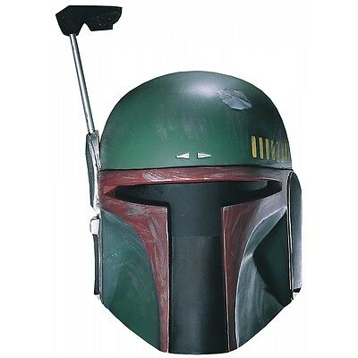 Boba Fett Helmet Adult Costume Mask Star Wars Cosplay Halloween Fancy Dress
