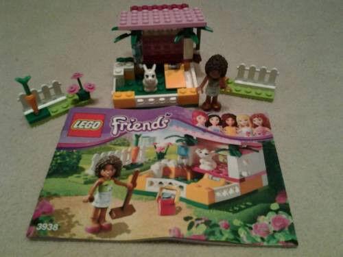 LEGO Friends Tierklinik (3188) und Hasenstall (3938)
