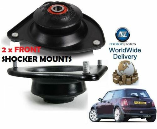 FOR BMW MINI ONE CLUBMAN COOPER S 02-/> TOP LEFT /& RIGHT FRONT STRUT MOUNTING KIT