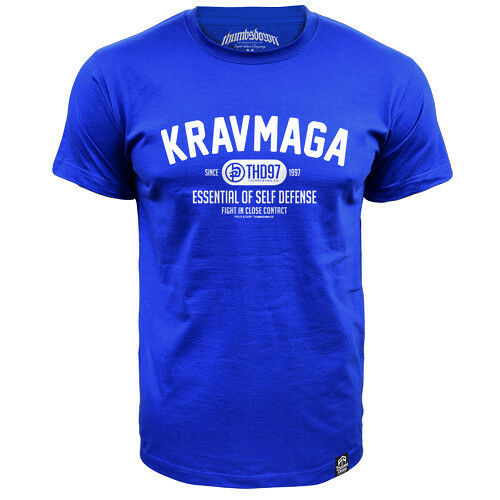CASUAL WEARS TS331 RBL TRAINING IDEAL FOR MMA T-SHIRT THUMBSDOWN KRAV MAGA