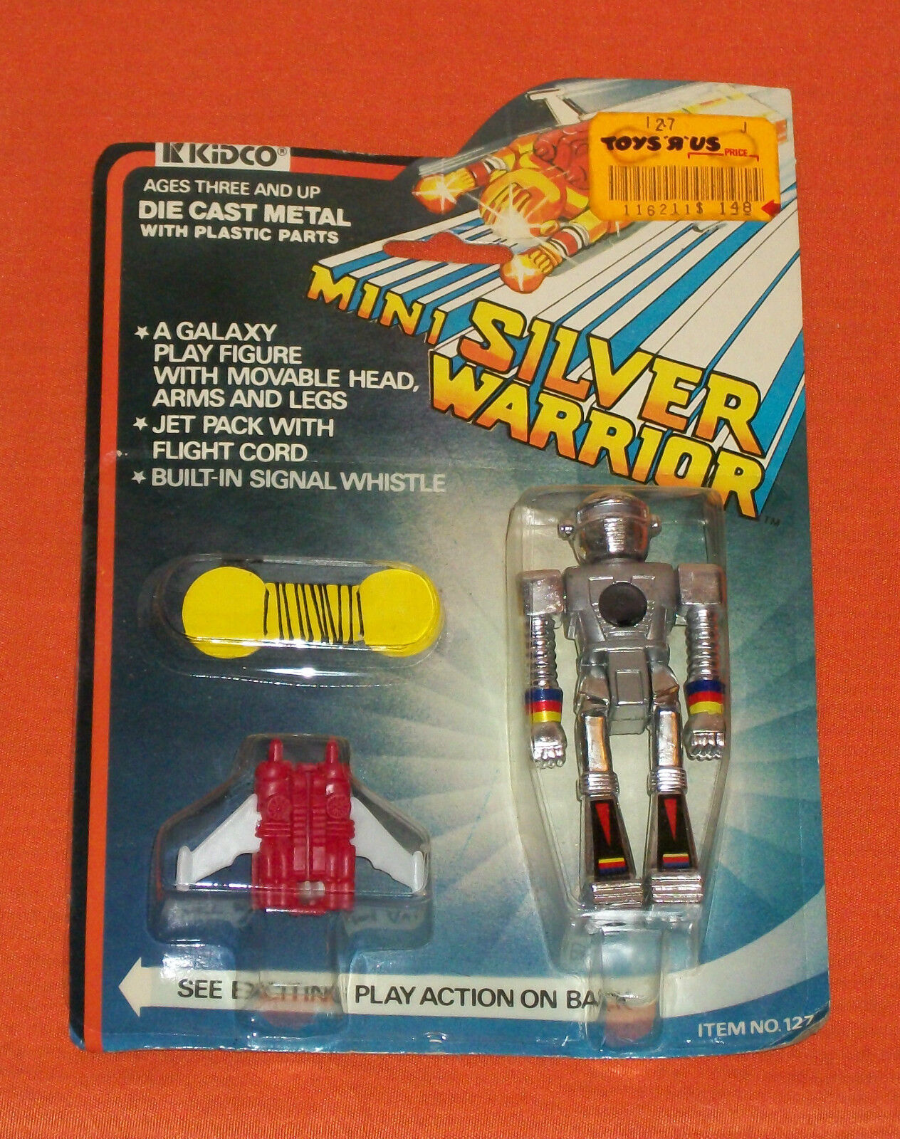 Jahr Kidco MINI Silber WARRIOR MOC sealed
