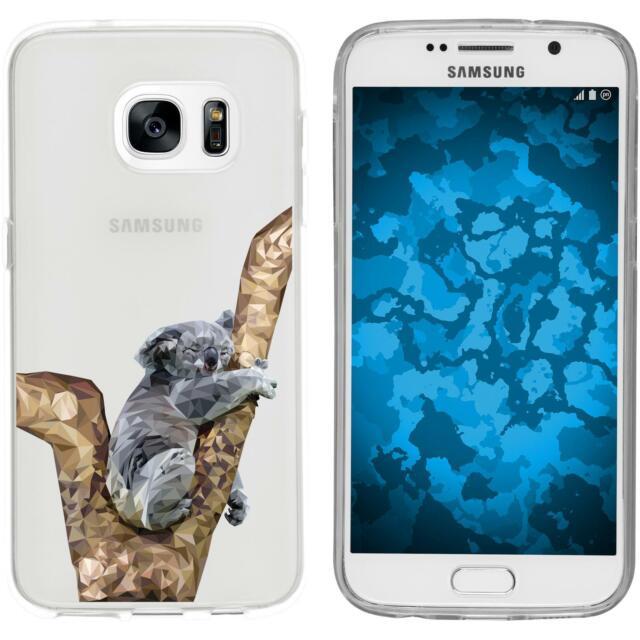 Galaxy S7 Custodia in Silicone vettore animali M9 Case