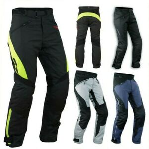 Women-039-s-Trousers-Lady-Waterproof-Motorcycle-Padding-Thermal-Extractable