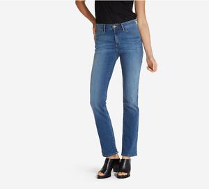 jeans donna wrangler  W27UU486L Misty Blue vita alta HIGH RISE BOOTCUT