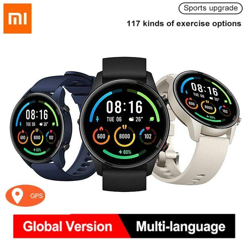 "Xiaomi Mi Watch 1.39 "" GPS Fitness Tracker 5ATM Wasserdichte Globale Version"