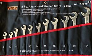 11 pc Combination Angle Wrench Set METRIC