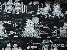 WtW Fabric Mary Engelbreit VIP Cranston Best Friends Kids Garden BTY Quilt