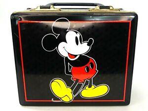 Vtg Disney Mickey Mouse Taffy Tin Lunchbox Style Park Hudson Scott & Sons