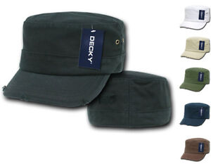18ddaadc5d3 Decky BDU G.I. US Military Patrol Cadet Army Distressed Fitted Hats ...