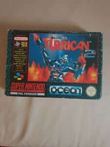 Turrican-2-Snes-Super-Nintendo-Game-Uncommon